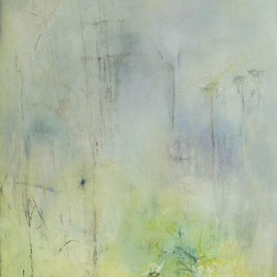 Nicose, Mixed Media on canvas, 60 x 36 inches