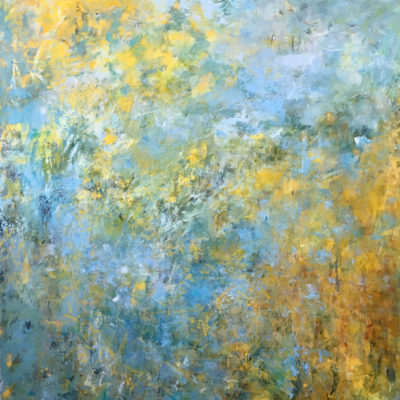 Field Study: Offer This Gift, Acrylic on canvas, 72 x 60 inches