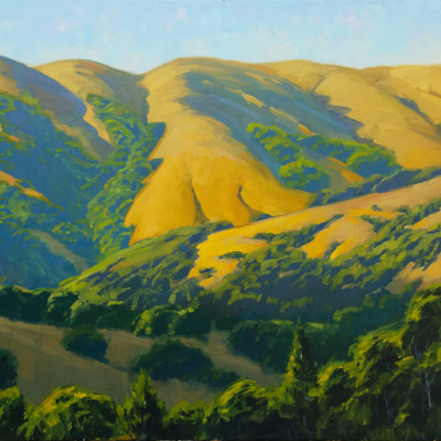 Mountain Melody, Oil on canvas, 30 x 40 inches