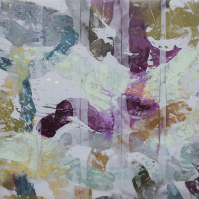 Ocean Light 3672-2, Painted mesh, 36 x 72 inches