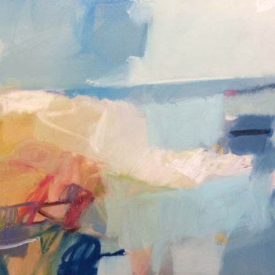 Whale Watching in Cabo, Oil on canvas, 36 x 48 inches