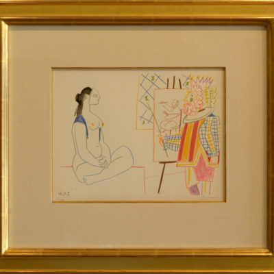 Picasso, In the Studio 11, Signed Litho, 10 x 13 inches