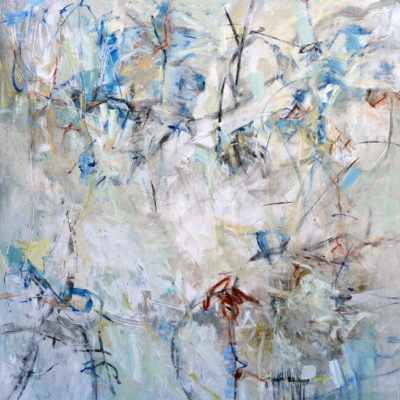 In Tune, Mixed media on canvas, 72 x 60 inches