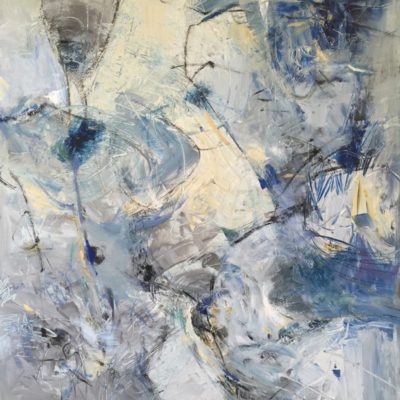 Volumes 11, Mixed media on canvas, 60 x 48 inches