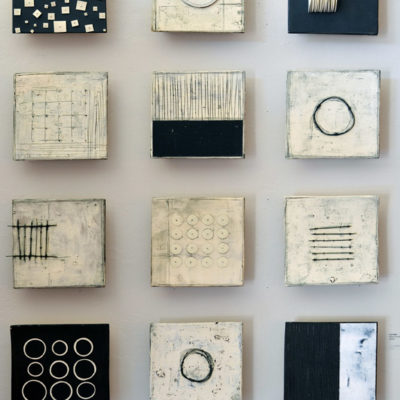 Medium Wall Squares, ceramic, 10 x 10 inches