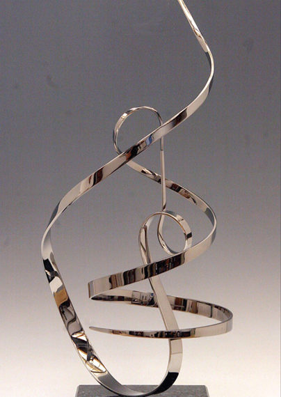 Melody, Steel, 36 x 12 inches