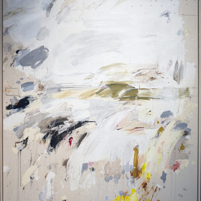 Untitled, Mixed media on canvas, 66 x 58 inches