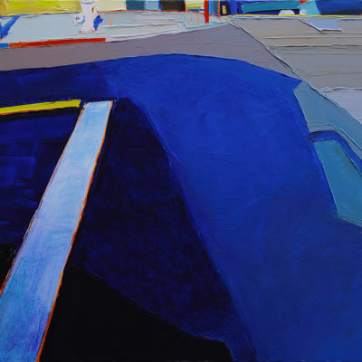 Street Colors San Francisco, Acrylic on canvas, 18 x 24 inches