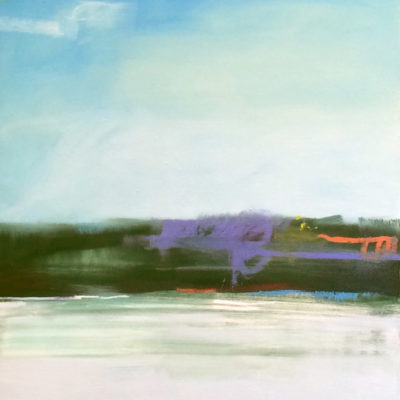 View From Tiburon, Oil on canvas, 48 x 36 inches