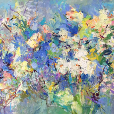 Feeling and Hope, Ephemeral, 36 x 60 inches