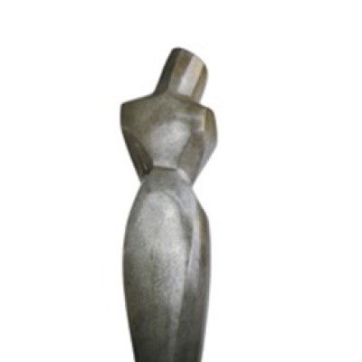 Lady in Bronze, Bronze, 73 x 11 inches