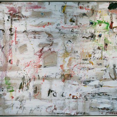 Distinction, Mixed media on canvas, 65 x 96 inches